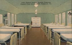 Typical Practical Nursing Classroom, Hospital Corps School, USNH