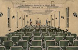 Auditorium, Hospital Corps School, USNH