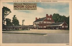 George Washington Motor Court - One of America's fine courts