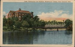 Lake, Gymnasium and Stadium, Muskingum College