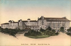 South Front of The Inn Postcard