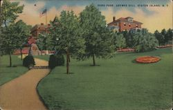 Hero Park on Grymes Hill