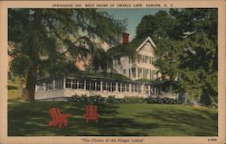 Springside Inn, West Shore of Owasco Lake