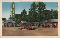 Piney Woods Cottages Postcard