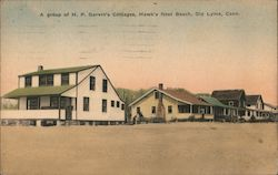 A group of H.P. Garvin's Cottages
