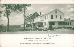 Madison Beach Hotel, Directly on the Beach