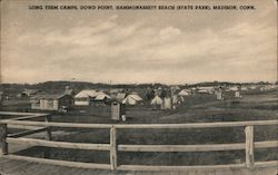 Long Term Camps, Dowd Point Postcard
