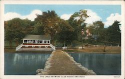 The Lake Hayward Club House and Dock
