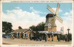 Tea Room and Service Station, the Windmill Tourist Camp
