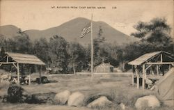 Mt. Katahdin from Camp Baxter Postcard