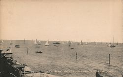 Duck Island Yacht Club Regatta Postcard