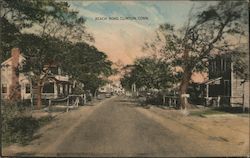 Beach Road Postcard
