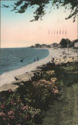 Quotonset Beach Postcard