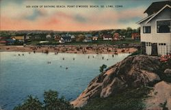 View of Bathing Beach, Point O'Woods Beach