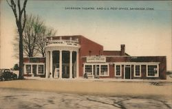 Saybrook Theatre and U.S. Post Office