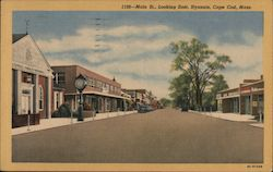 Main Street, Looking East,Cape Cod