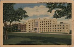 Wichita General Hospital Postcard