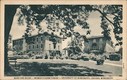 Ward and Ricks - Women's Dormitories - University of Mississippi