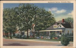 Resident Section Postcard