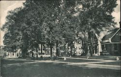 Library, Savings Bank and D.A.R. Boulder Postcard