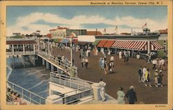 Boardwalk at Moorlyn Terrace Postcard