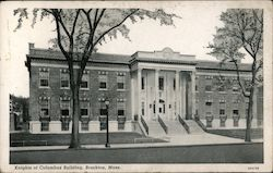 Knights of Columbus Building Postcard
