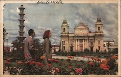 View of Typical City in Guatemala Postcard