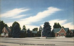 Blue Spruce Motel Postcard