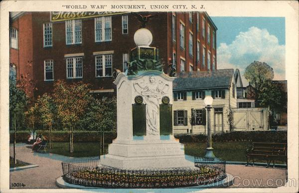 World War Monument Union City New Jersey