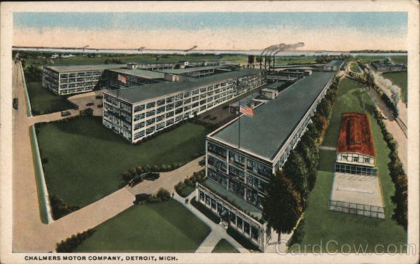 Chalmers Motor Company Detroit Michigan