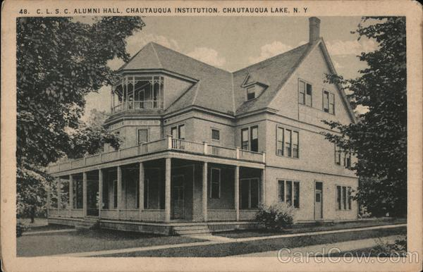 48. C.L.S.C. Alumni Hall, Chautauqua Institution Chautauqua Lake New York