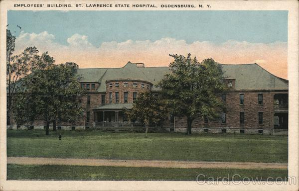 Employees' Buildings, St. Lawrence State Hospital Ogdensburg New York
