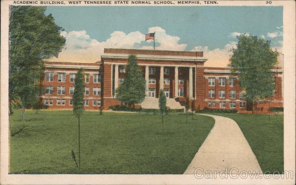 Academic Building, West Tennessee State Normal School Memphis