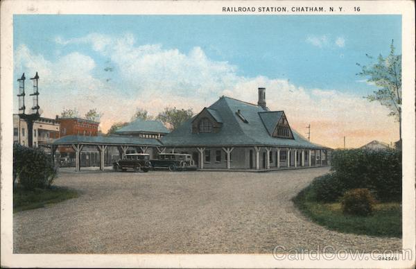 Railroad Station Chatham New York