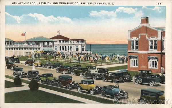 6th Avenue Pool, Pavilion and Miniature Course Asbury Park New Jersey