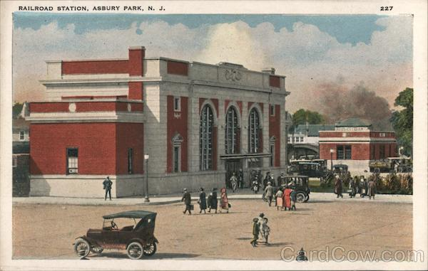 Railroad Station Asbury Park New Jersey