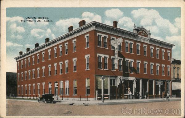 Union Hotel McPherson Kansas