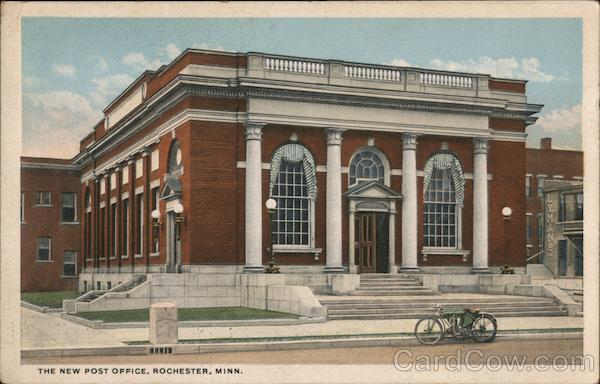The New Post Office Rochester Minnesota