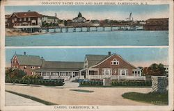 Conanicut Yacht Club and East Shore