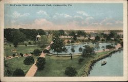 Bird's-eye View of Confederate Park