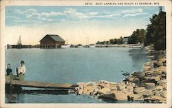 Boat Landing and Beach