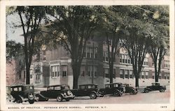 School of Practice, Potsdam State Normal Postcard