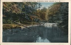 Lower Swimming Pool, Shinglekill Glen