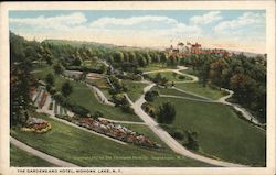 The Gardens and Hotel Postcard
