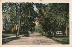 Arlington Avenue Postcard