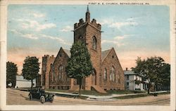 First M. E. Church Postcard