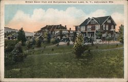 Brown Swan Club and Bungalows, Adirondack Mts.