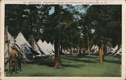 Military Training Camp Barracks