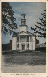 M.E. Church Postcard