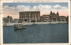 Wesley Lake and Hotel La Pierre